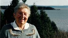 Mary Majka was a driving force behind the shorebird reserve on the Bay of Fundy. (Brian Townsend)