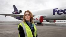 Lisa Lisson, president of FedEx Canada (Moe Doiron/Moe Doiron/The Globe and Mail)