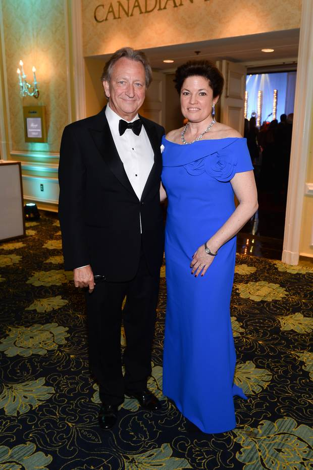 Eugene Melnyk and Catherine Shaw, CEO of The Organ Project.