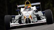 Robert Wickens in action for Formula BMW USA in 2006. (Andreas Pranter/GEPA)