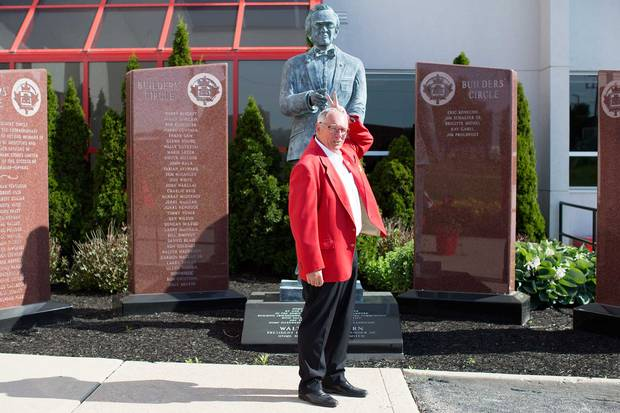 CEO Terry Davis at Home Hardware's headquarters in St. Jacobs, where founder Walter Hachborn is ever-present