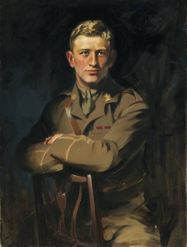 Okill Massey Learmonth, painted by artist James Quinn.