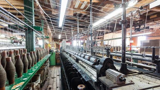 MacAusland's Woolen Mills is enjoying newfound popularity