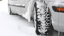 Winter tires are best when you're driving through snow, or in temperatures below 7 degrees Celsius. (Photos.com)