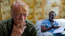 Red West, left, and Souleymane Sy Savane in Goodbye Solo, which feels like an Iranian film, in the way it blends concerns both cosmic and every day.