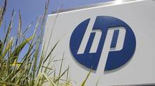 Hewlett-Packard's headquarters in Palo Alto, Calif. HP says the layoff of 27,000 workers, or 8 per cent of its work force, will be made mainly through early retirement. (Paul Sakuma/Associated Press/Paul Sakuma/Associated Press)