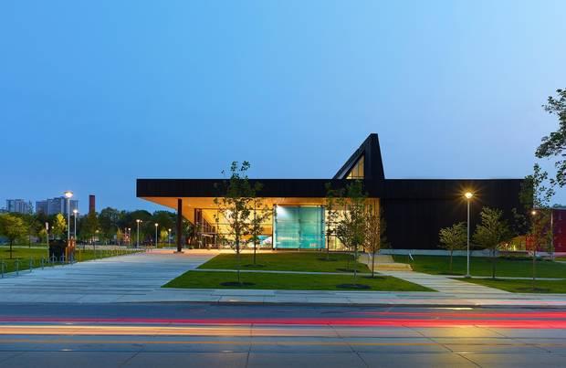 The Governor General's jury also honoured Toronto's extraordinarily good Regent Park Aquatic Centre.