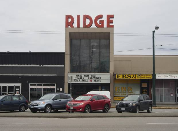 The Ridge Theatre, before redevelopment.