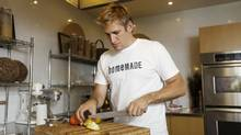 Nervous about cooking? Chef Curtis Stone says take a risk. 'If you feel lost, follow recipes exactly. You'll start to pick up cooking techniques and flavour combinations. Eventually you'll be adding in your own twists and making dishes your own.' (Charla Jones/The Globe and Mail)
