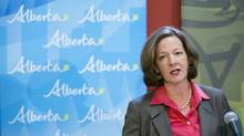 Alison Redford said the U.S., in the interest of its energy independence, has a stake in Alberta's oil sands. (Chris Bolin For The Globe and Mail)