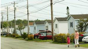 A Killam Properties trailer park in Eastern Passage, N.S.