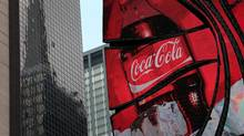 Beverage giant Coca-Cola Co. has a beta of just 0.52 over the past five years, a figure that indicates low volatility. (Scott Eells/Bloomberg)