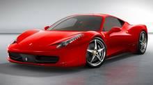 Ferrari 458 Italia. (Ferrari)