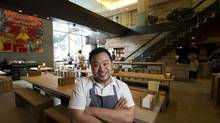 David Chang made his name in New York. Now he's opening three restaurants in Toronto. (<240>Kevin Van Paassen/The Globe and Mail)