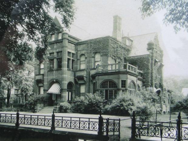 William R. Johnston House was completed in 1875.