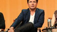 "This publicity image released by NBC shows actor Michael J. Fox from the ""The Michael J. Fox Show"" panel during the NBCUniversal Press Tour in Beverly Hills, Calif., on Saturday, July 27, 2013. Fox will star as Mike Henry, a former local NBC newscaster with Parkinson's. (AP Photo/NBC, Chris Haston) (Chris Haston/AP)"