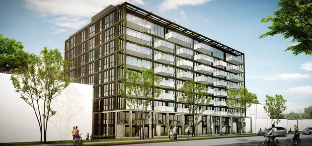 Minto, a nine-storey mid-rise in Calgary's Sunnyside neighbourhood, is being designed by Nyhoff Architecture. Firm co-founder Kevin Nyhoff says creative and innovative design is helping to alleviate community concerns around densification in older neighbourhoods.