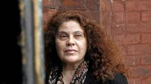 Author Anne Michaels, who has an idea of mapping the city according to people's personal stories, photographed at Berkeley Church on Queen St., E., Toronto, April 22, 2011. (Fernando Morales/The Globe and Mail)