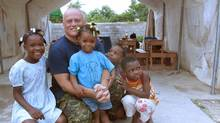 Lt.-Col. Roger Gagnon in Port-au-Prince, Haiti. Lt.-Col. Roger Gagnon is on his first UN mission in Haiti, and will be spending this Christmas (2011) with his fellow Canadian soldiers and local orphans. (Handout/Handout)