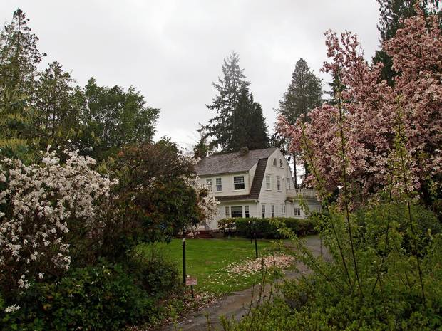 This house in Monroe, Wash., was the Palmer home in the show.