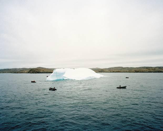 Just off Baffin Island, Nunavut.