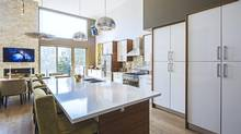 The owner of this 2,800-square-foot house in the Trinity-Bellwoods neighbourhood did most of it herself, but consulted with experts on the finer points. (Peter A. Sellar/www.photoklik.com)