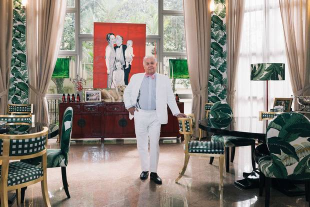 Jim Rogers at his home in Singapore.