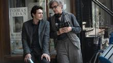 James Franco and Wim Wenders on the set of Every Thing Will Be Fine. (Donata Wenders)