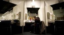 Like Vancouver's supervised injection site, above, the Sydney centre was born of a public health crisis. (John Lehmann/The Globe and Mail)