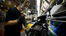 File photo of an auto parts plant in Ontario. (Glenn Lowson for The Globe and Mail)