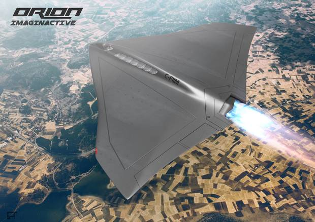 The Orion: an aircraft that could take people to the edge of