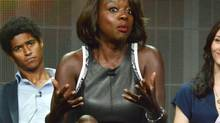 Viola Davis talks to television critics about her starring role in the new ABC series How to Get Away with Murder at the Beverly Hilton Hotel last week. (Richard Shotwell/Richard Shotwell/Invision/AP)