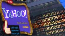 A Yahoo! billboard is seen in New York's Times Square in 2010. (Brendan McDermid/REUTERS)