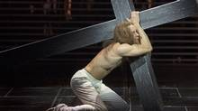 Paul Nolan as Jesus in the Stratford Shakespeare Festival's production of esus Christ Superstar. (Stratford Shakespeare Festival/David Hou)