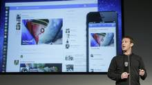 Facebook CEO Mark Zuckerberg speaks at Facebook headquarters in Menlo Park, Calif., March 7, 2013. (Jeff Chiu/AP)