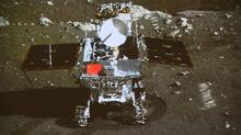 Online followers of China's first moon rover have been treating it like a lonely pioneering space hero. (AP)
