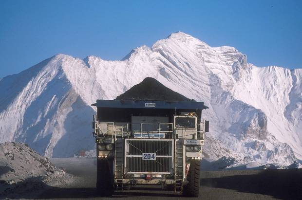 A Teck Resources operation near Sparwood, B.C.