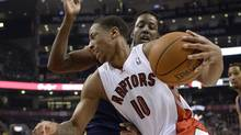 Toronto Raptors' DeMar DeRozan (Frank Gunn/THE CANADIAN PRESS)