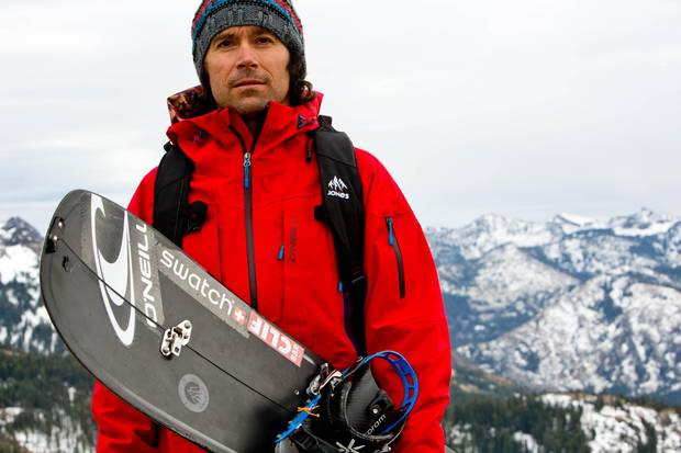 Jeremy Jones founded the activist group Protect Our Winters, in an effort to rally the snow-sports industry around climate-change issues.