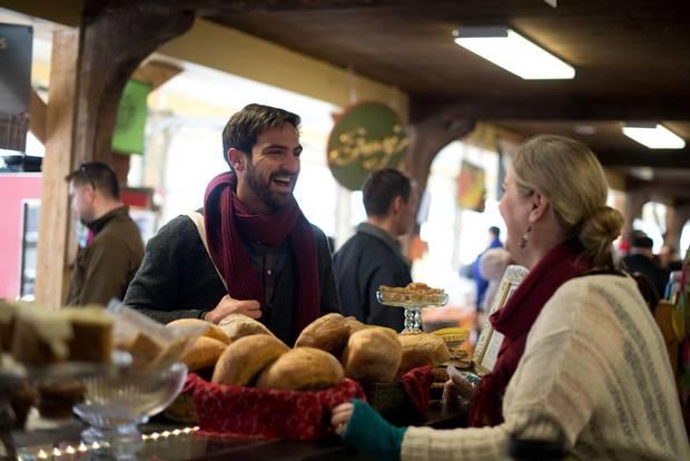 The Wolfville Farmers' Market.