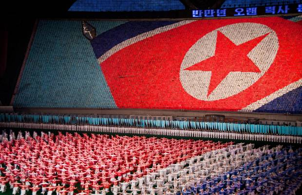 North Korea. Arirang Mass Games.