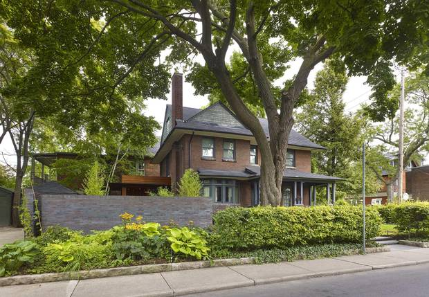 The Toronto home of architects Jennifer Turner and Martin Davidson.