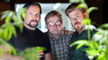 Robb Wells, John Paul Tremblay and Mike Smith star in Trailer Park Boys: Countdown to Liquor Day (Michael Tompkins)