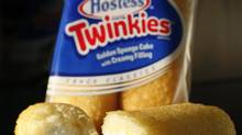 This Tuesday, Jan. 10, 2012, file photo, shows, Hostess Twinkies in a studio in New York. (Mark Lennihan/AP)