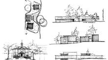 A series of sketches from a competition that just closed for the Greater Victoria Art Gallery by Johanna Hurme, co-founder of the Winnipeg-based firm 5468796 Architecture. (Johanna Hurme)
