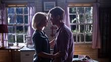 Julianne Hough and Josh Duhamel in Safe Haven. (James Bridges)