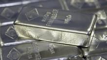 Silver bars (LEONHARD FOEGER/Leonhard Foeger/Reuters)