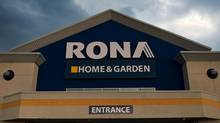 Home and garden centre Lowe's has put in a bid for ownership of its currently Canadian-owned competitor, Rona, (Galit Rodan/The Globe and Mail)