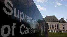 The Supreme Court of Canada in Ottawa is seen Thursday Oct. 7, 2010. (Adrian Wyld/The Canadian Press/Adrian Wyld/The Canadian Press)