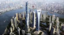 In this architectural rendering shows the Shanghai Tower. (AP)